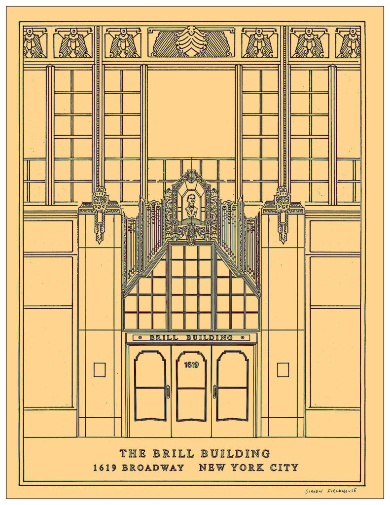 Brill Building by Simon Fieldhouse