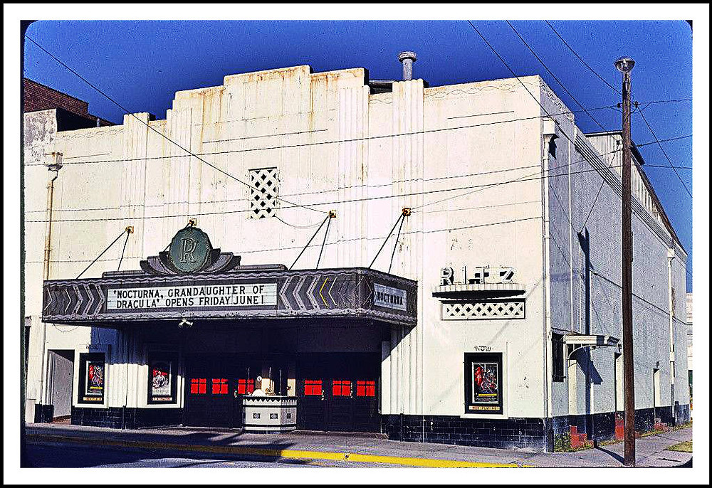 Ritz Theater in the late-Seventies.