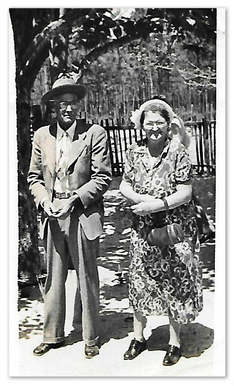 Everett C. and Leila Virginia Strickland Carter.  Hoboken GA
