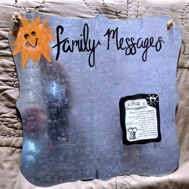 FAMILY MESSAGES : $25
