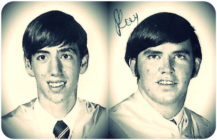 Uncle Dave Griffin and Billy Ray Herrin, Ware Co. High School Class of 1971