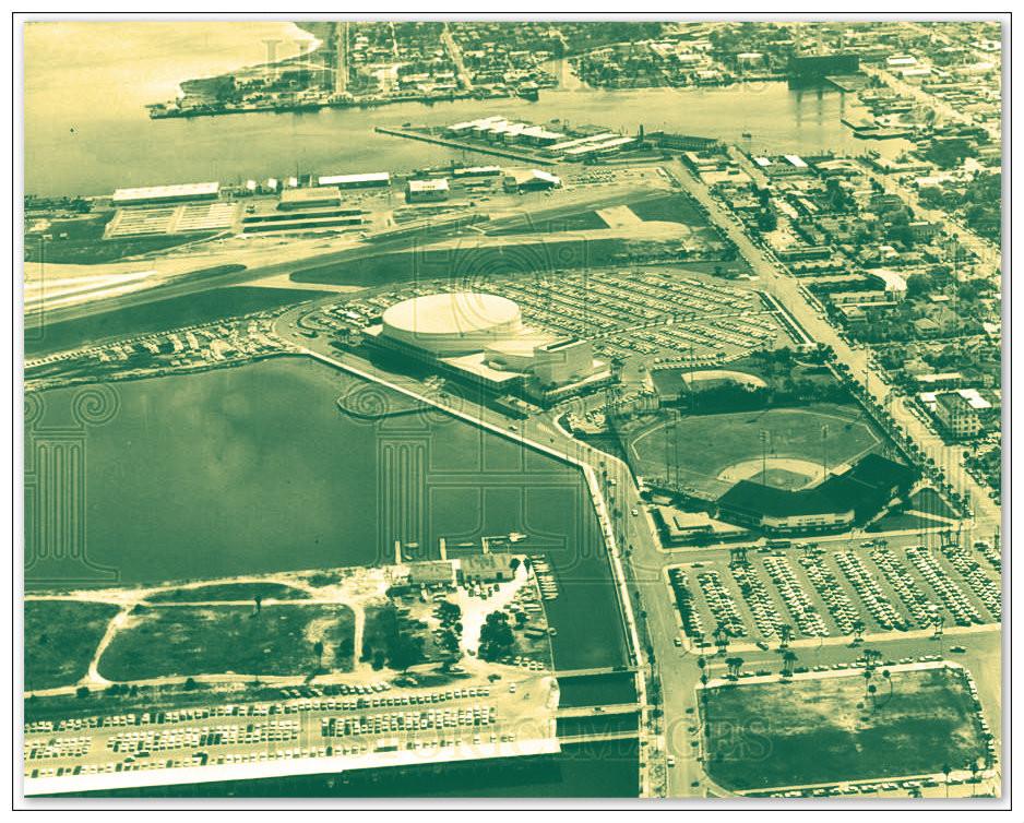 Al Lang Field.  St. Petersburg, Florida.  1966