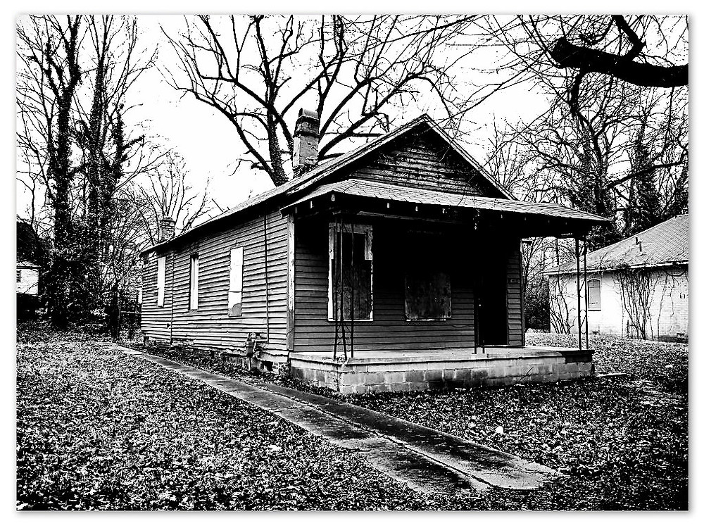 Aretha's birthplace, 406 Lucy Avenue, Memphis Tennessee.