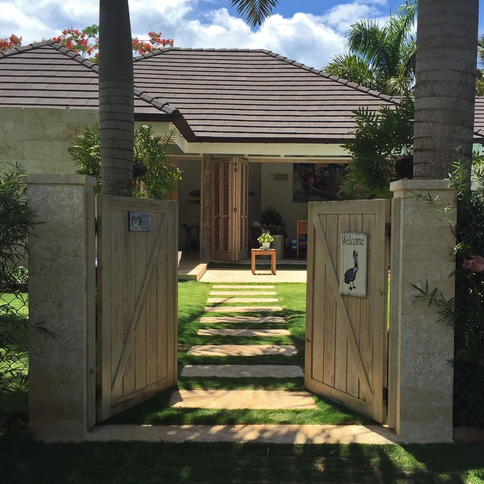 Casa bonita, Las Terrenas, Dominican Republic
