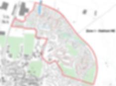 Map of Oakham NE Zone 1