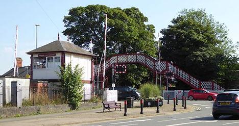 Oakham level crossing
