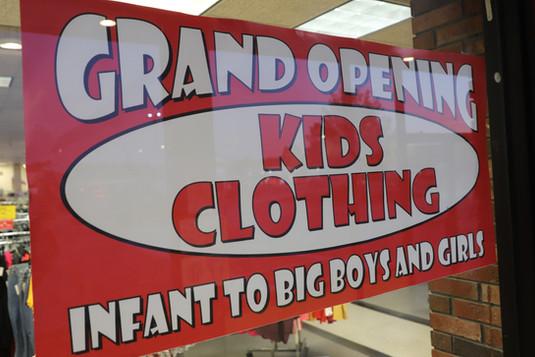 kids clothing grand opening __ Label Sho
