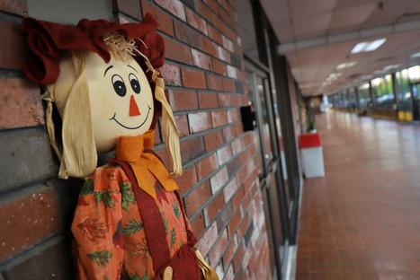 Mall Hallway __ Scarecrow
