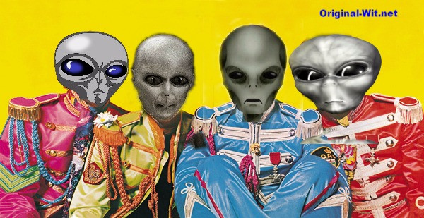 Sgt Pepper revisited by aliens. The results might shock you