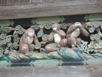 Trump & the Three Wise Monkeys