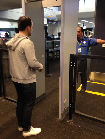 New Flight regulations require you leave your clothes at the gate