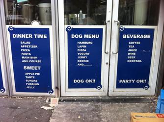 Dogs Menu