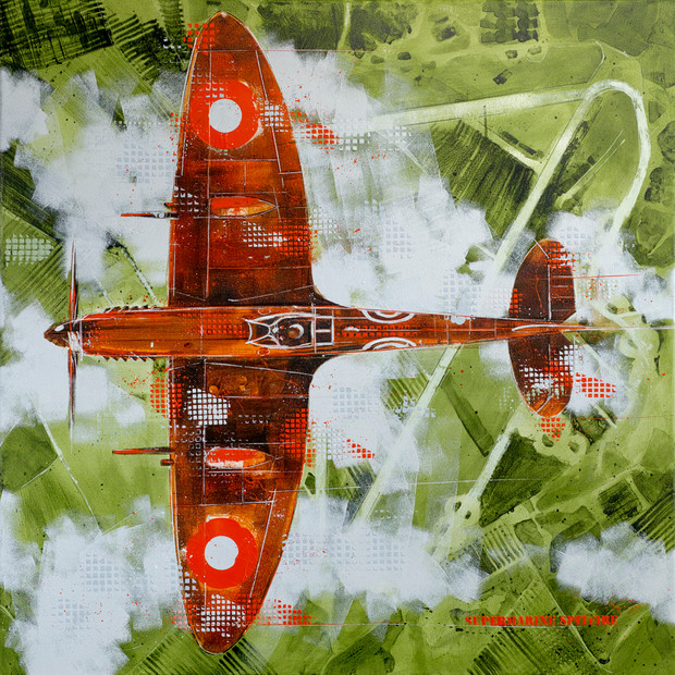Over the airfield - sold