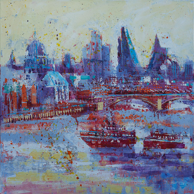 Thames to City - sold