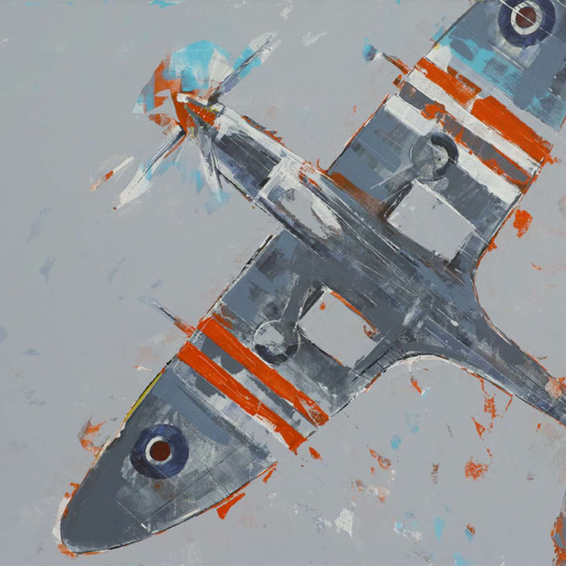 Spitfire overhead - sold