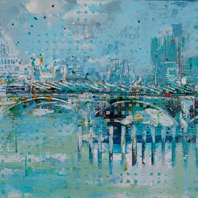Towards the City - sold