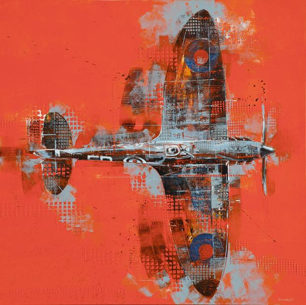 Orange Spitfire - sold