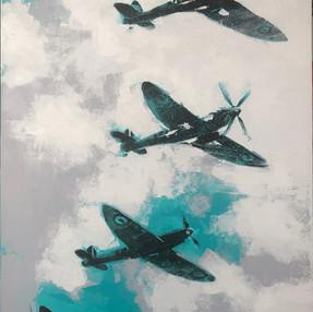 Spitfire Four-mation - £1,600.00