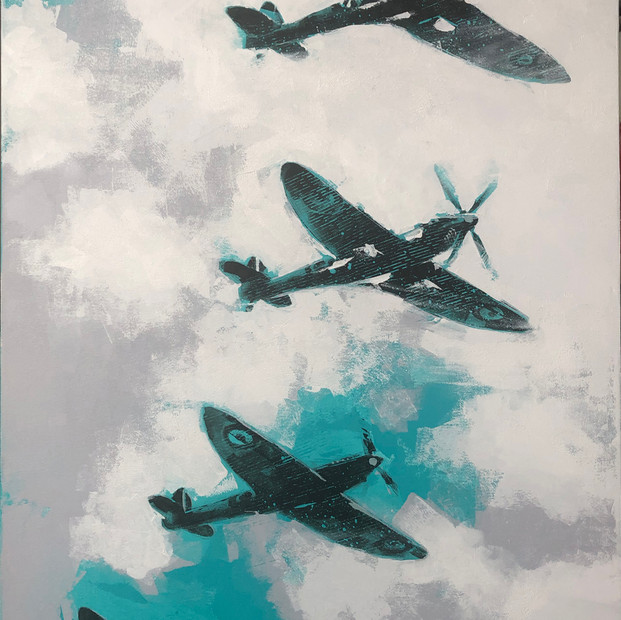 Spitfire Four-mation - £1,600.00