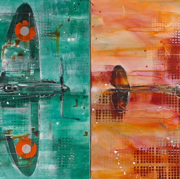 Spitfire duo - sold