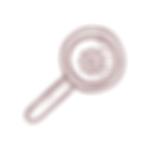 desenho de lupa com engrenagm dentro como símbolo da visão de oportunidades
