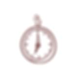 desenho de bússola como símbolo da descoberta de recursos