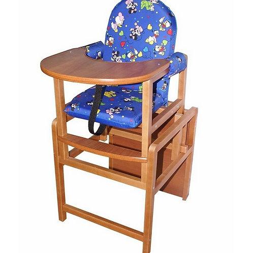 Стульчик для кормления Вилт Малыш, цвет: синий