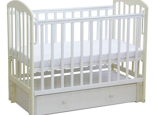 Кровать детская Фея 328 белый-ваниль