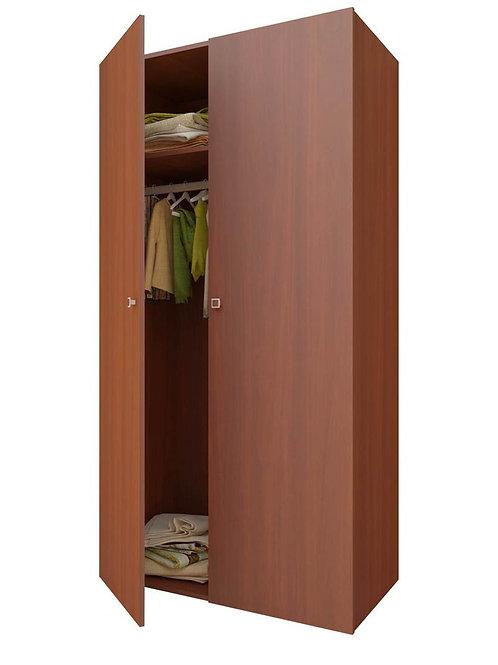 Шкаф 2-х секционный ФЕЯ орех