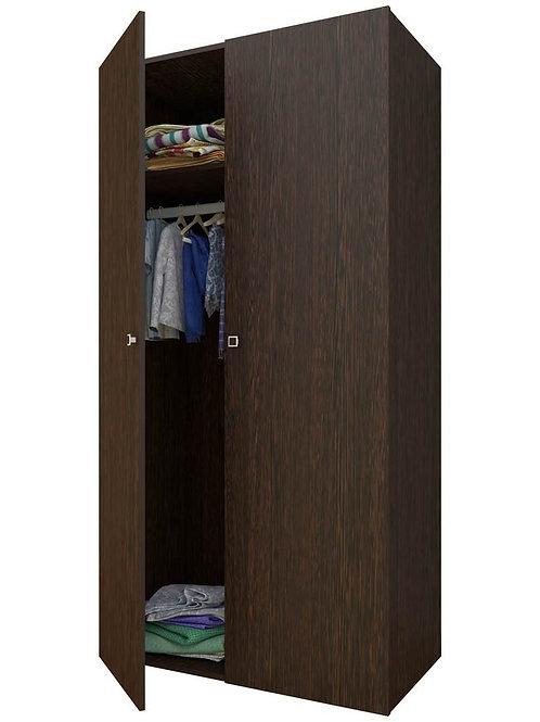 Шкаф 2-х секционный ФЕЯ венге