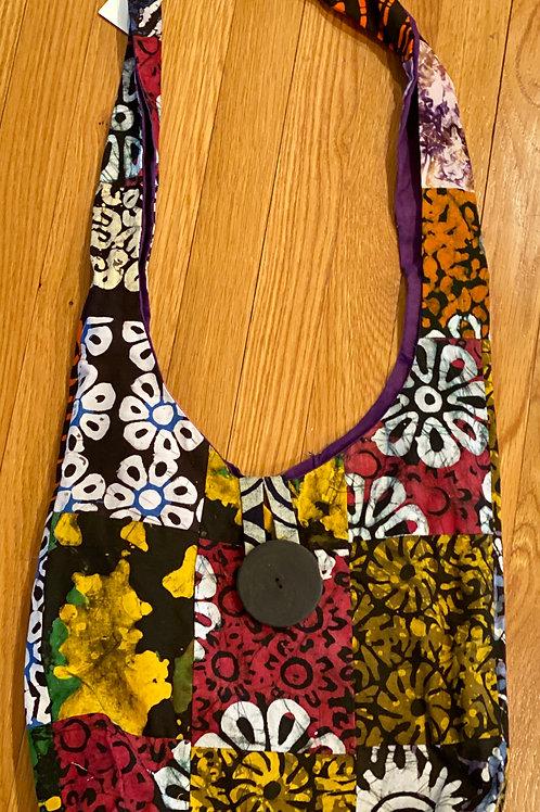 Batik Maasai Bag - Patchwork