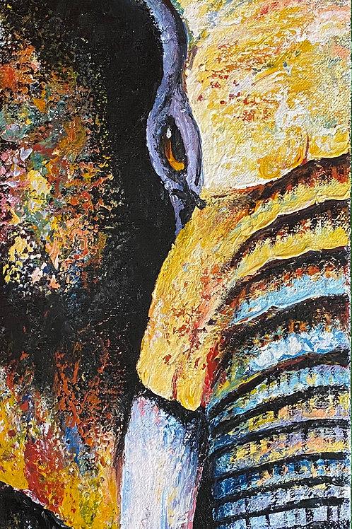 Elephant Face - Half