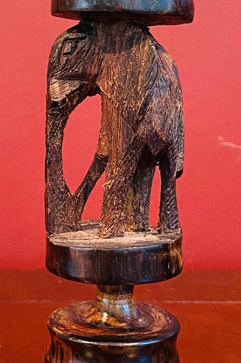 Elephant Candlestick Holder