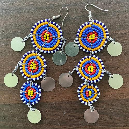 Beaded Maasai Earrings