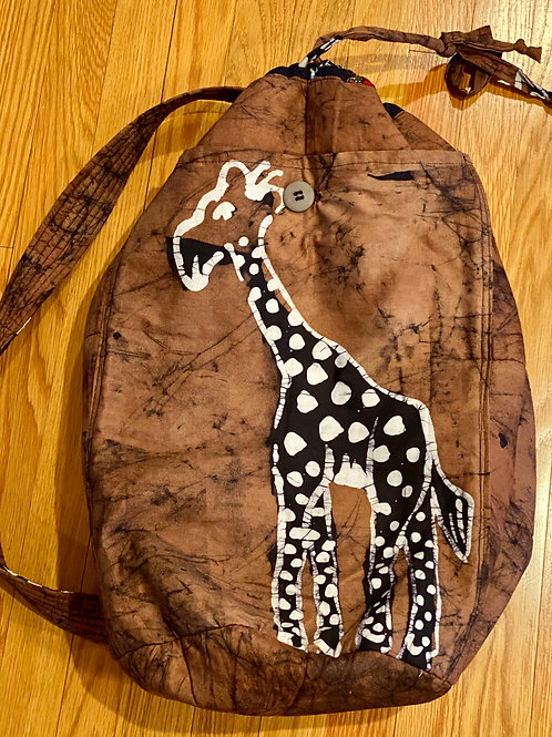 Extra Large Giraffe Backpack