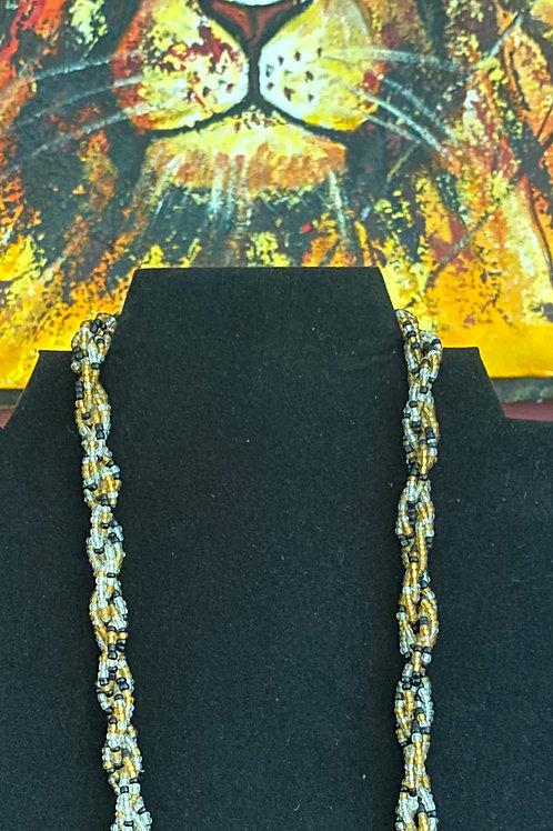 Bead Twist Necklace