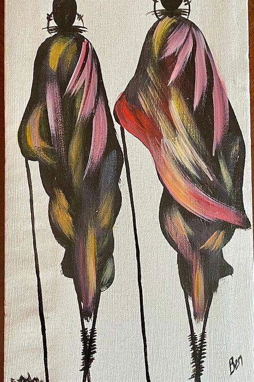 Maasai Painting