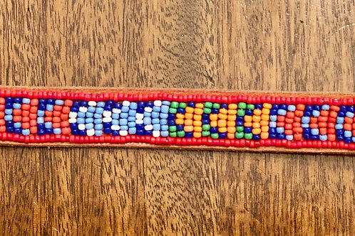 Maasai Beaded Dog Collar -Small