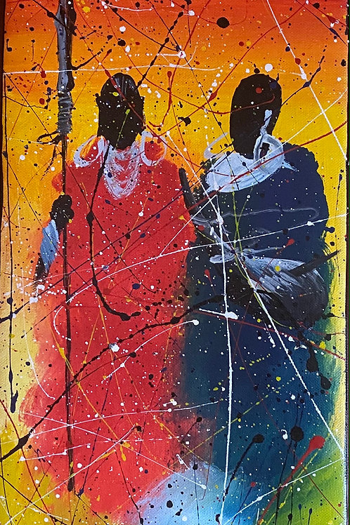 Splatter Maasai