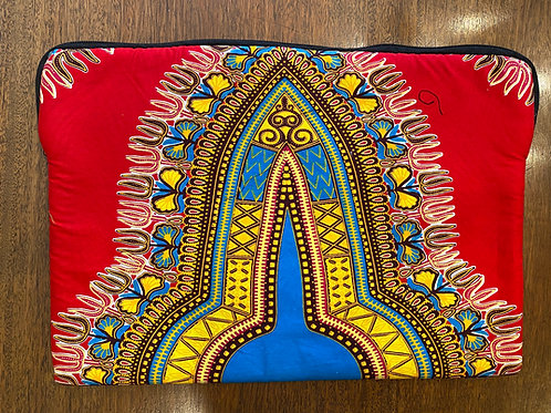 African Fabric Laptop Case