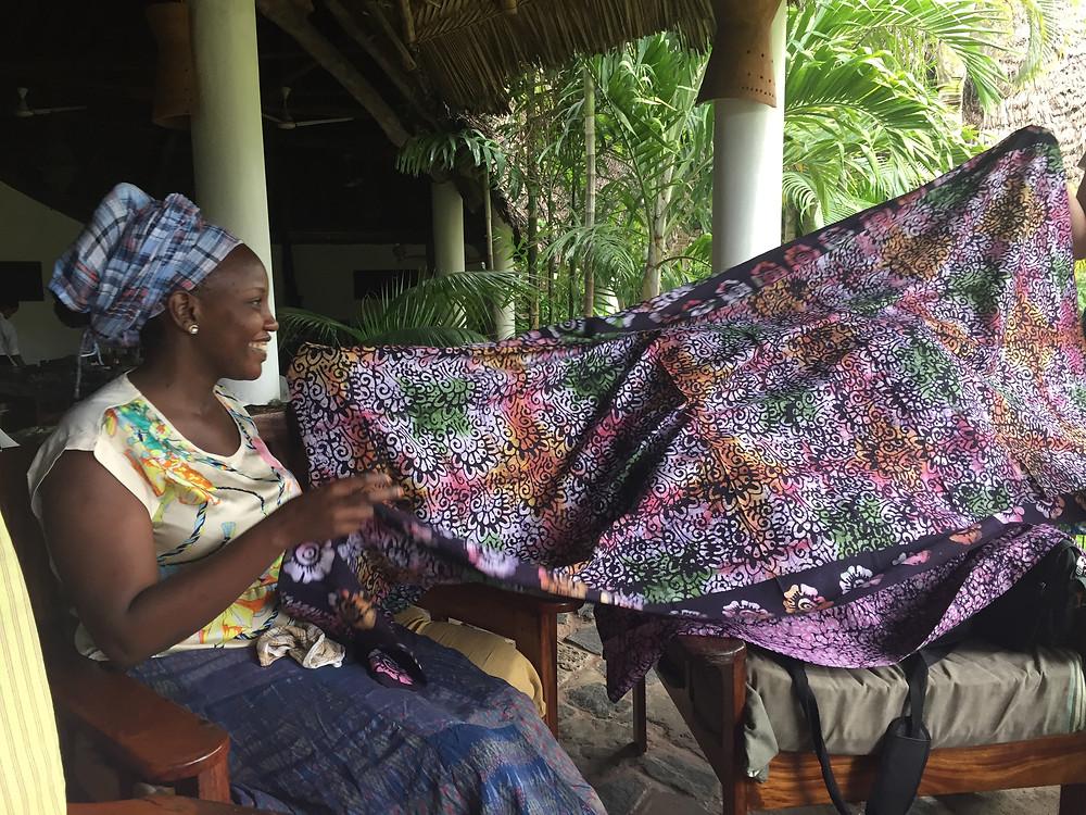 Love's batik fabric