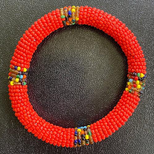 Beaded Maasai Bangle