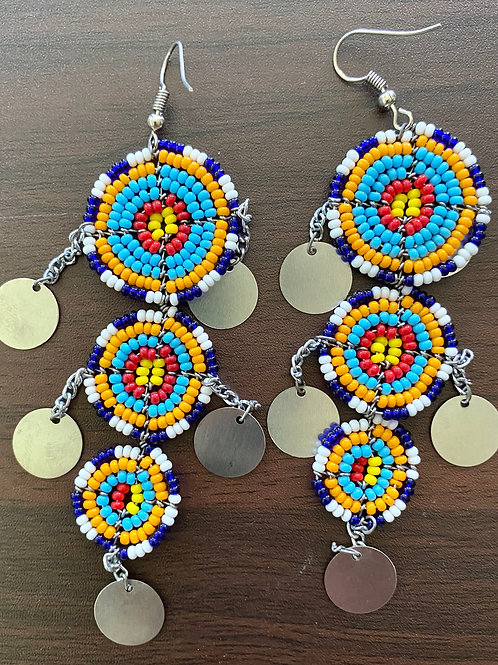 Beaded Maasai Earrings