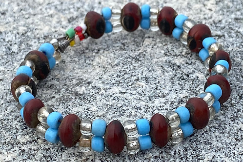 Bead and Seed Bracelet - small