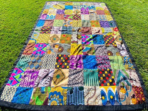 African Patchwork Quilt