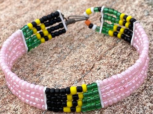 Beaded Maasai Cuff Bracelet - small
