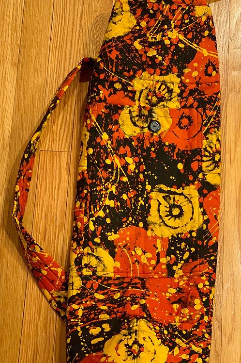 Batik Yoga Bag
