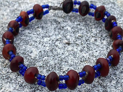 Bead and Seed Bracelet
