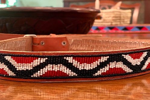 Maasai Beaded Belt