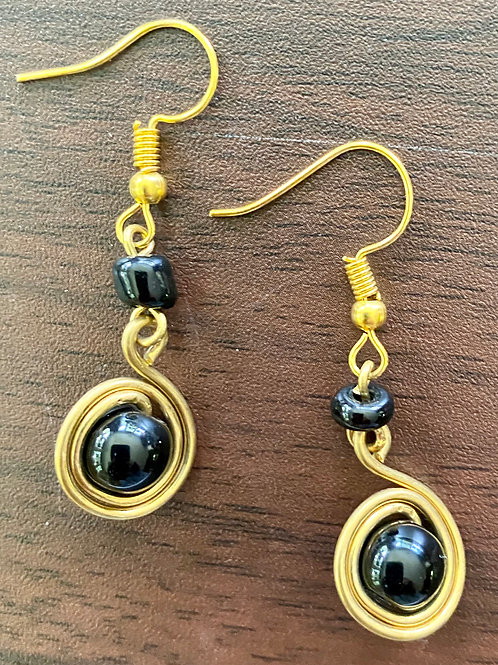 Bead Drop Maasai Earrings